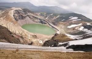 蔵王山噴火火口周辺警報