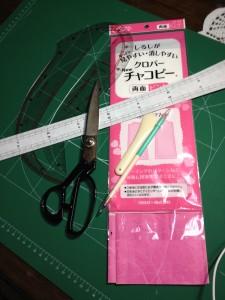手作りクッションに挑戦します