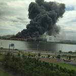【日鉄住金鋼管】川崎製造所!大規模な火災が発生!