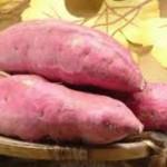 【サツマイモ】には食物繊維が豊富に含まれる!腸に美肌に効果?