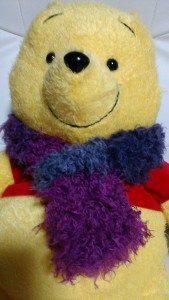 【ファー】の手編みマフラー!作り方は簡単
