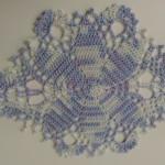 【レース編み】楕円形のドイリー!